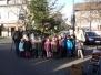 Aufstellung Weihnachtsbaum 2011