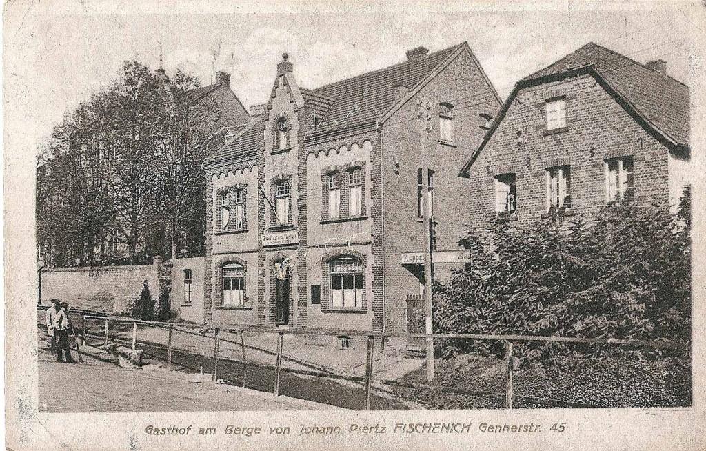 Gasthof Am Berge auf der Gennerstraße - Aufnahme wurde von Dr. h.c. Hans J. Rothkamp zur Verfügung gestellt