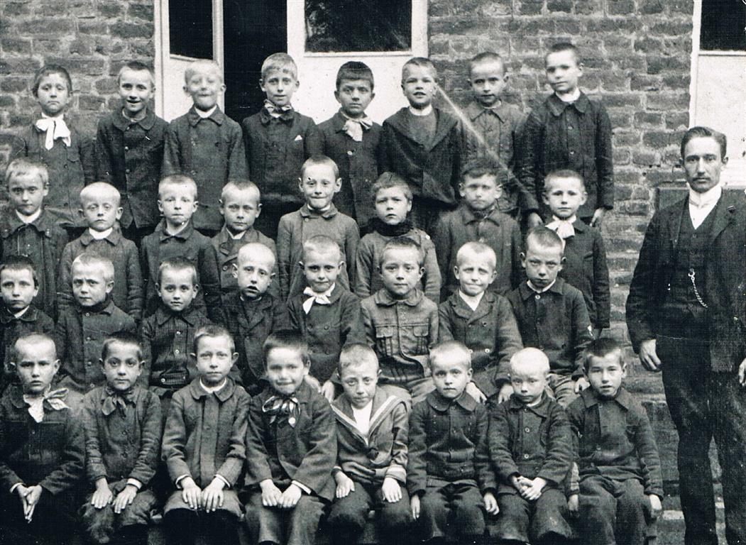 Schulklasse 1905 (Foto von Anni Hinz)
