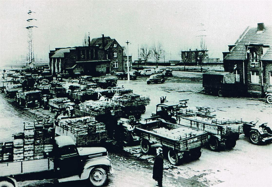 Versteigerung 1936 (Foto von Anni Hinz)